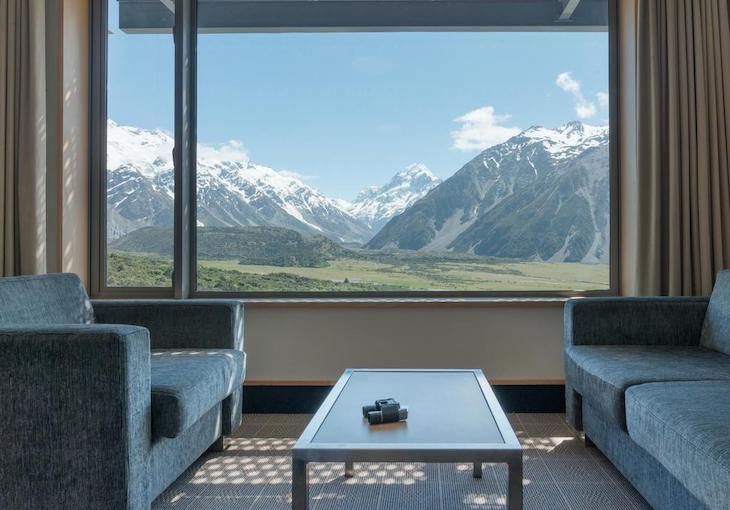 The Hermitage Hotel, Mount Cook Village